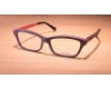 Gold & Wood Ecla Eyeglasses in 04 Purple maple/Aluminium/Fushia (Temple Size 140)