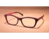 Gold & Wood Electra Eyeglasses in 04 Burgundy / Aluminium / Fushia