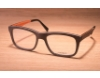 Gold & Wood Madison Eyeglasses in 02 Brown maple / Aluminium / Flashy orange