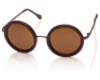 LeSpecs Ziggy Sunglasses in 1302136 Bordeaux w/ Copper Brown Mono