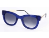 Thierry Lasry Sexxxy Sunglasses in Sexxxy Blue w/ Gold Temples 384