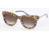 Thierry Lasry Sexxxy Sunglasses in Sexxxy Black & Gold Flakes w/ Gold Temples 4120