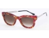 Thierry Lasry Sexxxy Sunglasses in Sexxxy Vintage Pink & Gold  w/ Silver Temples V201