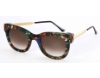 Thierry Lasry Sexxxy Sunglasses in Sexxxy Vintage Green & Gold w/ Gold Temples V204