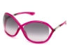 Tom Ford FT0009 Whitney Sunglasses in 72B Shiny Pink / Gradient Smoke