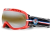 Vuarnet VK 1101 Ski Goggles Goggles in VK11010017 Matt Red w/ Grey Lenses