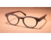Gold & Wood Sirius Eyeglasses in 04 Brown maple / Aluminium / Burgundy