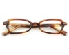 Seraphin by OGI MORGAN Eyeglasses in 8521 - Butterscotch Demi