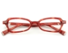 Seraphin by OGI MORGAN Eyeglasses in 8522 - Burgundy Pearl Demi