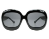 Tom Ford FT0083 Bianca Sunglasses in (B5) Shiny Black w/Smoke Lenses