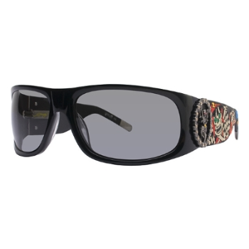 Ed Hardy EHS 044 LIVE TO RIDE Sunglasses