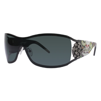 Ed Hardy EHS 045 DEATH OR GLORY LOS ANGELES Sunglasses