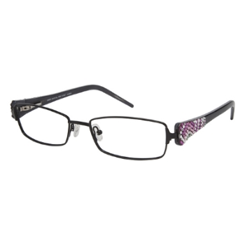 Jimmy Crystal New York Garbo Eyeglasses