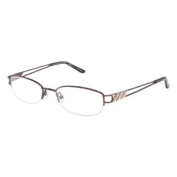 Jimmy Crystal New York Cleopatra Eyeglasses
