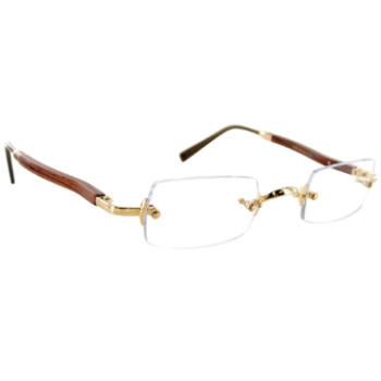 Gold & Wood 3384.6.B6 Eyeglasses