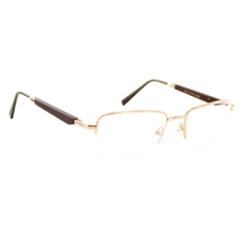 Gold & Wood 412.6.Ta21 Eyeglasses