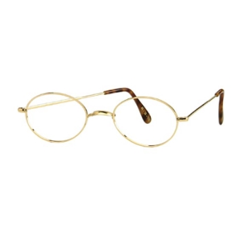 Savile Row Walmer 14KT No Nose Pads Eyeglasses