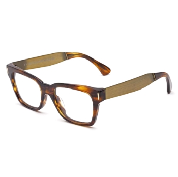 Super Optical America Francis Havana IM71 Eyeglasses