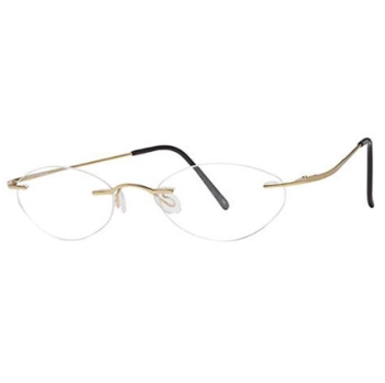 Invincilites Invincilites Beta Gold Eyeglasses