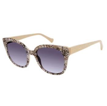 Betsey Johnson In Love Sunglasses