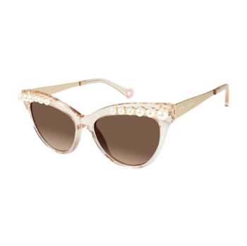 Betsey Johnson Kitty Pearls Sunglasses