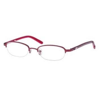 Jessica Mcclintock Eyeglass Frames Petite : Womens Semi-Rim 130mm Temples 47mm Eyesize Eyeglasses