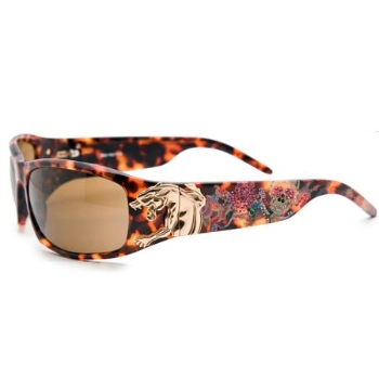 Christian Audigier CAS411 PANTHER Sunglasses