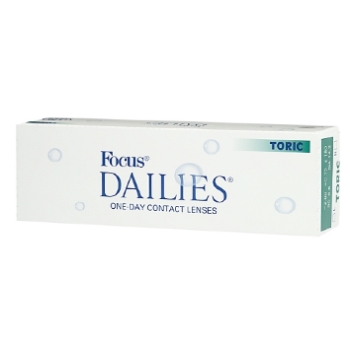 Dailies Focus Dailies Toric 30 Pack Contact Lenses