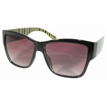 Dazed N Confused Holiday Gold Sunglasses
