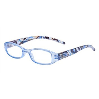 Hilco Readers Blue Swirl Eyeglasses