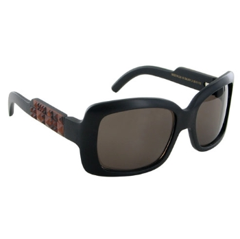 Gold & Wood Galaxy Sunglasses