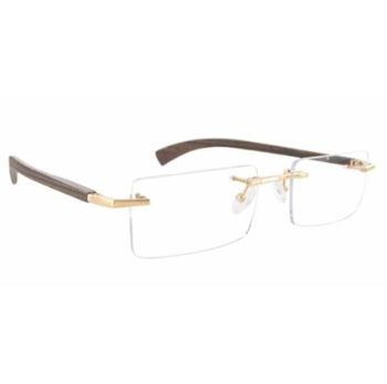 Gold & Wood A16.75.CrA53 Eyeglasses