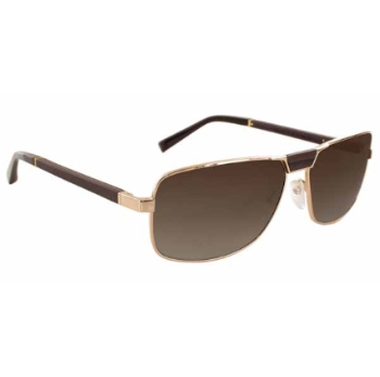 Gold & Wood Arrakis Sunglasses