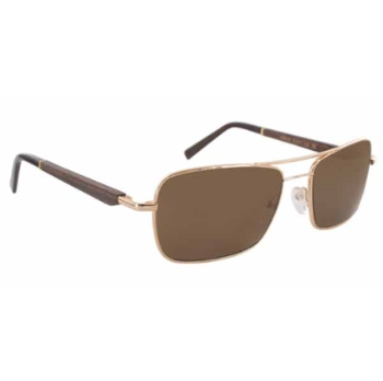 Gold & Wood Atik Sunglasses