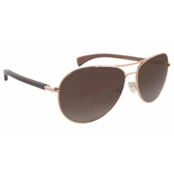 Gold & Wood Avior Sunglasses