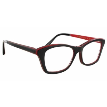 Gold & Wood Electra Eyeglasses