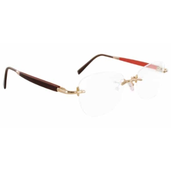 Gold & Wood R39.6.TaOv24 Eyeglasses