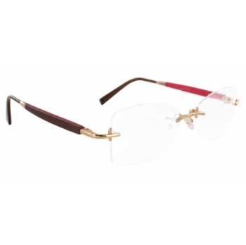 Gold & Wood R40.6.TaF24 Eyeglasses