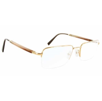 Gold & Wood W412.6.CB4 Eyeglasses