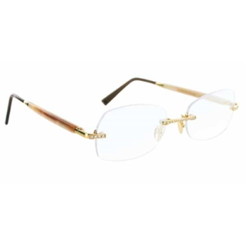 Gold & Wood WR01.D.01.6.CB24 Eyeglasses