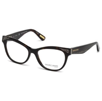 28a772ee8e Guess by Marciano Semi-Cat-Eye Eyeglasses