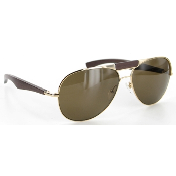 Gold & Wood H24 Sunglasses