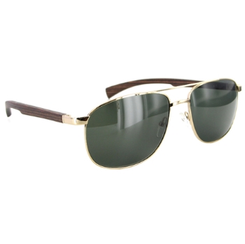 Gold & Wood H25 Sunglasses