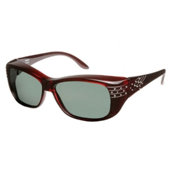 Haven Polarized Victoria Crystal Comet Fits-Over Sunglasses