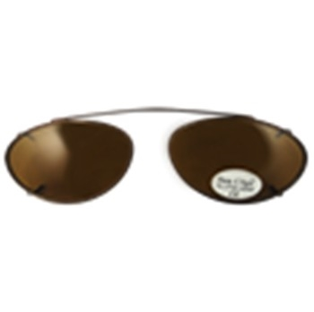 Hilco Traditional Low Oval Sunclip - Continue Sunglasses