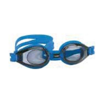 Hilco Leader Sports Vantage Complete Swim Goggle, Blue with Minus Lens Power Goggles
