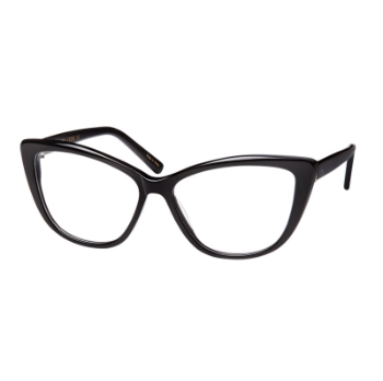 Kirby Cross Raven Eyeglasses