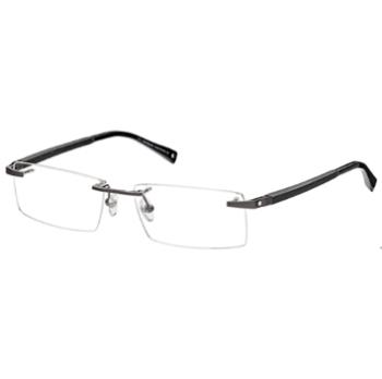 Mont Blanc Rimless Eyeglasses - Go-Optic.com