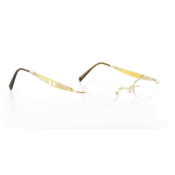 Gold & Wood N01.6.CBN41 Eyeglasses