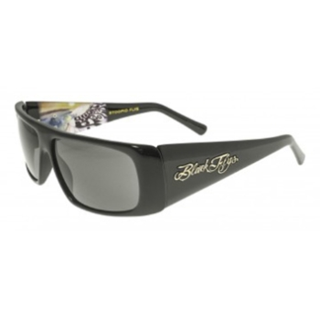 Black Flys Stoopid Fly Alders Art Ed./ Slightly Stoopid Collab Polarized Sunglasses